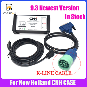 Image 1 - Agriculture Diagnostic  for New Holland Electronic Service Tools K LINE Cable (CNH EST 9.3 Engineering Level)+Activator+unexpire