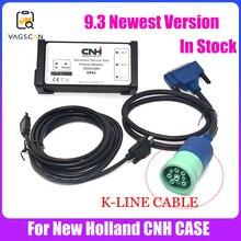농업 진단 New Holland 전자 서비스 도구 K LINE 케이블 (CNH EST 9.3 엔지니어링 레벨) + Activator + unexpire