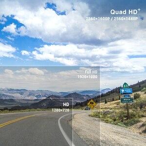 Image 2 - Viofo A119 V3 2 18k 60fps車のダッシュカムスーパーナイトビジョンクワッドhd 2560*1440 1080p車dvr駐車場モードgセンサーオプションのgps