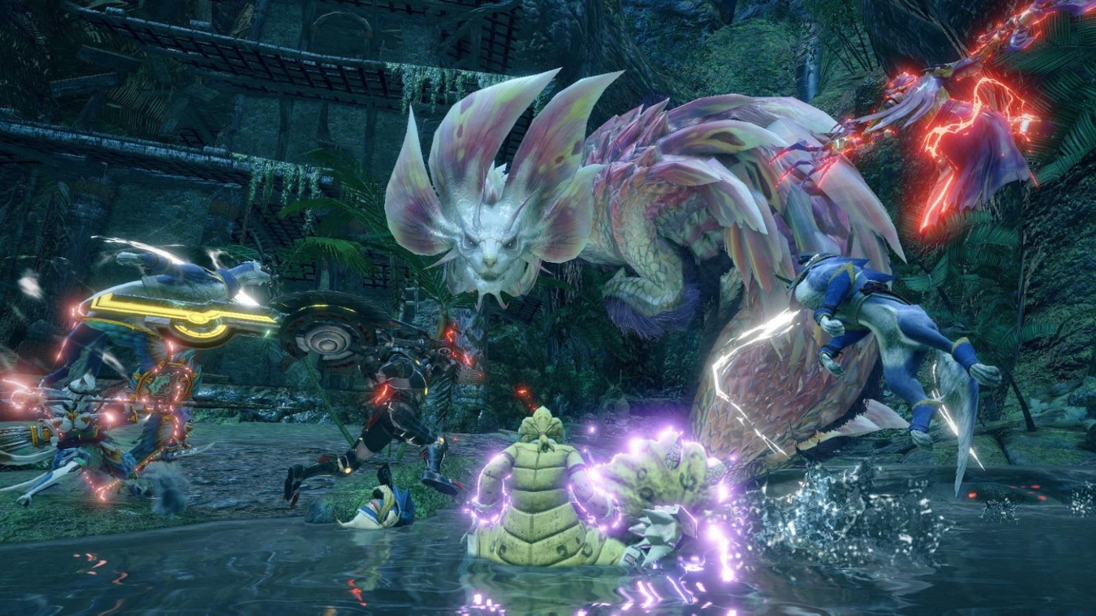 Capcom《怪物猎人:崛起》体验版试玩视频流出