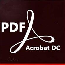 Adobe Acrobat Pro DC 2019 PDF в Word Win/Mac преобразование PDF редактор