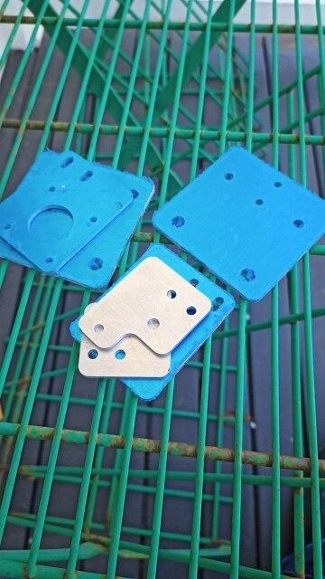 Peças e acessórios em 3D Alumínio Tronxy Atualizar