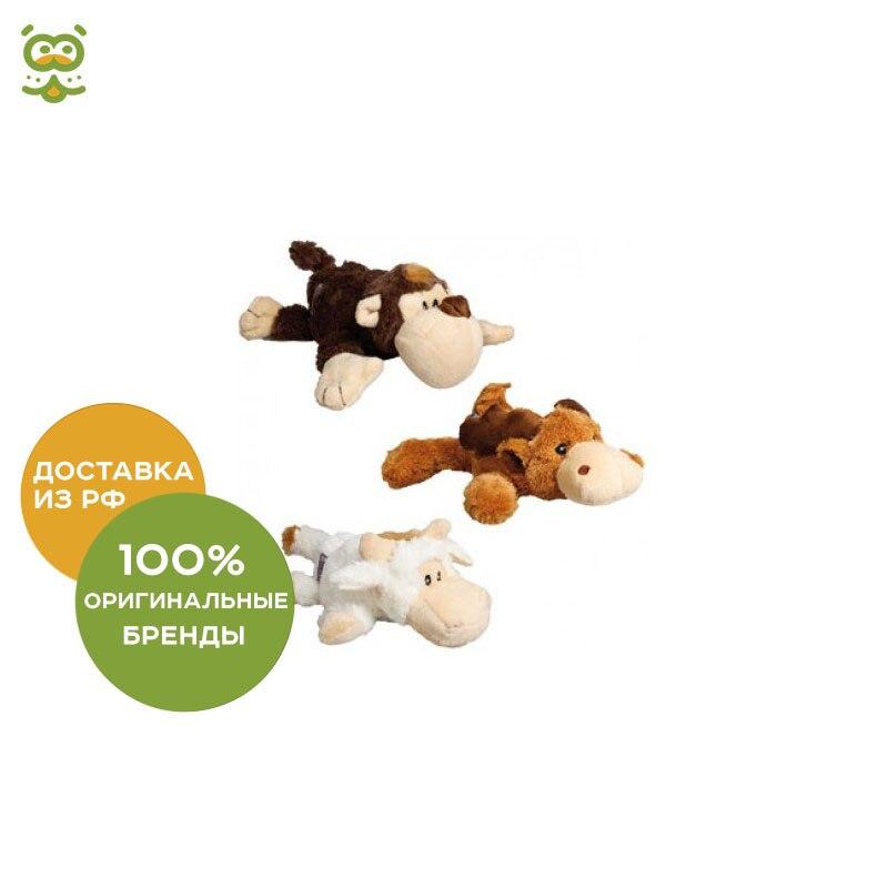 KONG toy for dogs Kozi Natura (monkey, lamb, elk) plush, average 23 cm