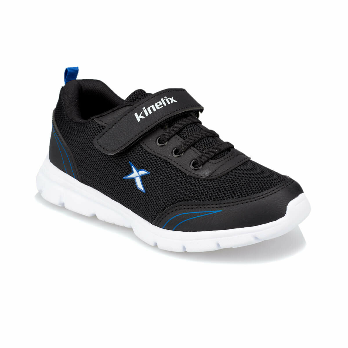 FLO YANNI Black Male Child Running Shoes KINETIX