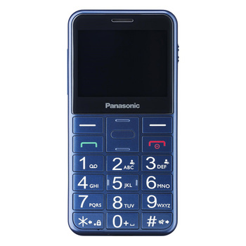 Mobile telephone for older adults Panasonic Corp. KX-TU150 TFT LCD Dual SIM Blue