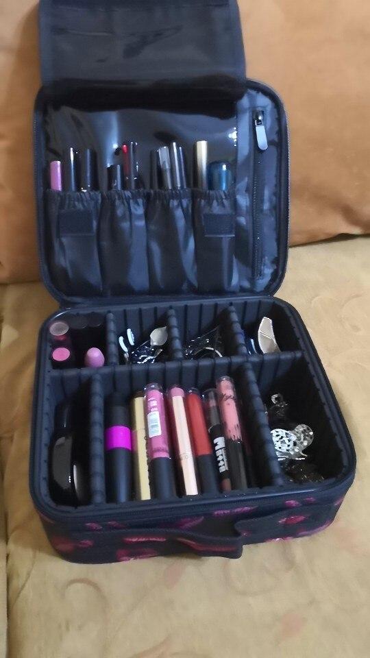 Bolsas p/ cosméticos qualidade cosméticos escova