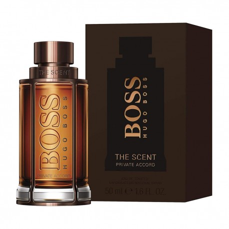 BOSS THE PRIVATE ACCORD SCENT FOR HIM EDT 50ML