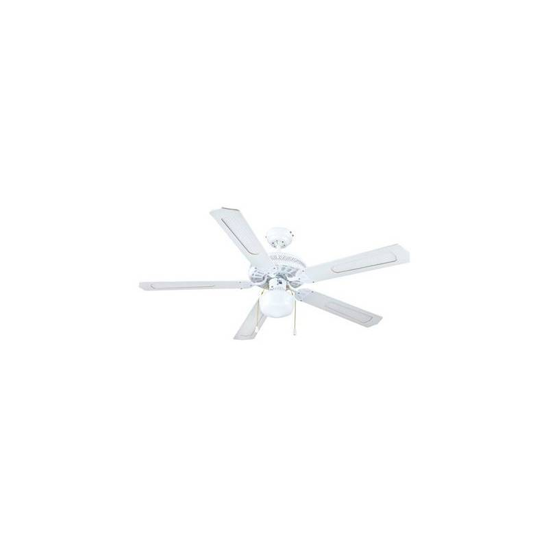 Ceiling Fan With Light Group FM VTCLASSIC130B 60W White (ø 132 Cm)