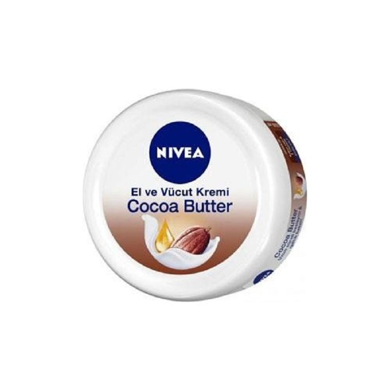 200 Ml The NIVEA® Cocoa Butter Body Hand Cream Nourishing Pampering 48 Hours Dry Skin Treatment