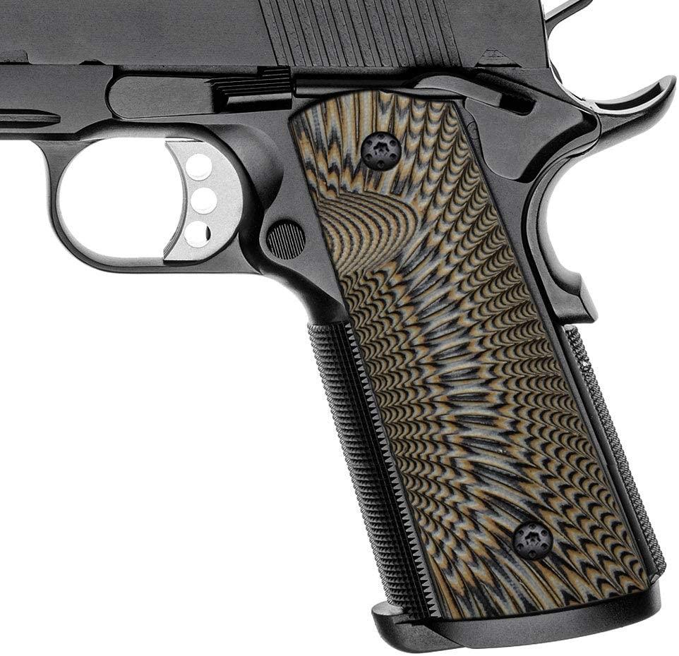 G10 1911 kulpları 5 ''inç varil tam boy hükümet komutanı standart Taurus PT1911 Colt sig Springfield