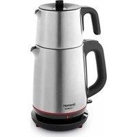 Homend 1711 royaltea 2000 w aço elétrico bule   chá turco   máquina de chá   aquecedor de água   bule   chá quente