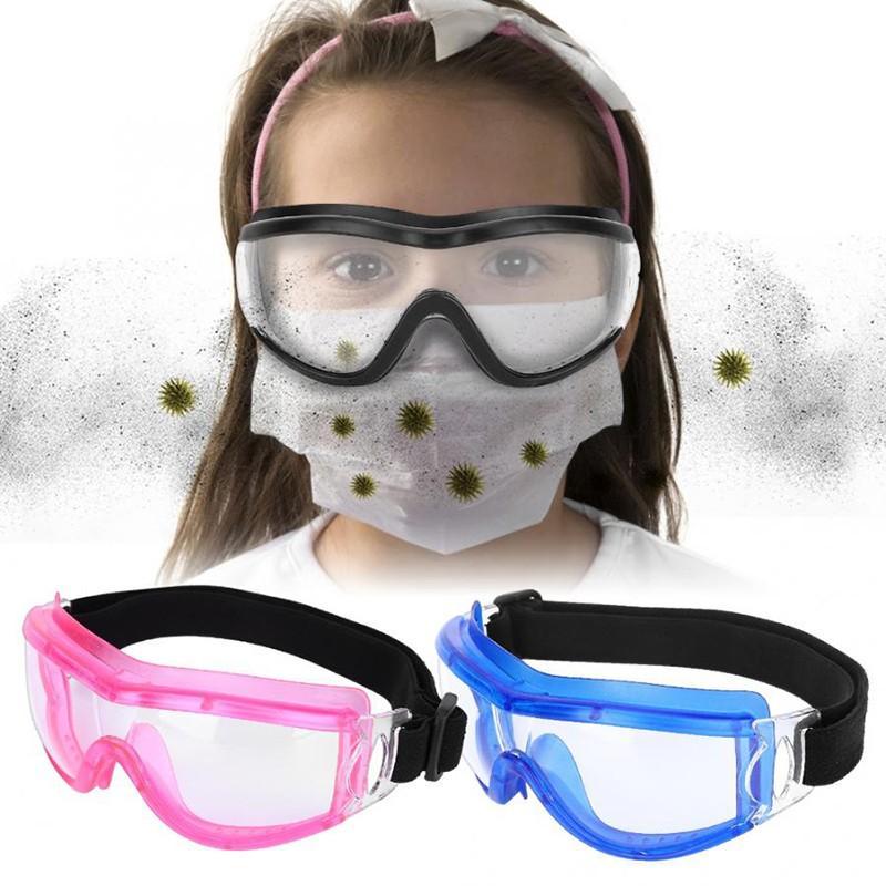 Children Safety Goggle Glasses Anti-Fog Dustproof Waterproof Goggles Unisex Kid Protective Glasses Virus Safety Glasses Eye Mask