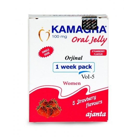 Kamagra Oral Jelly For Women Ajanta 100 Mg