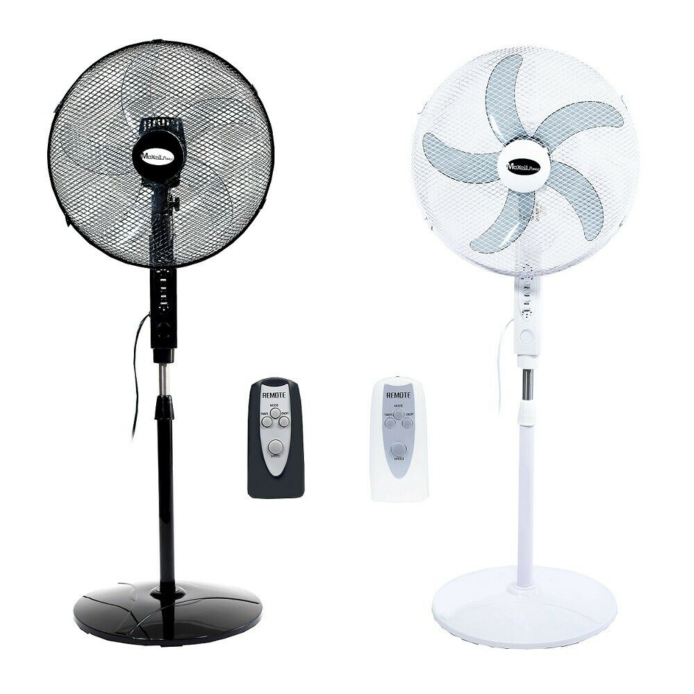 Stand Fan With Remote Control Distance 50W 16 Inch 3 Speed Timer MP-V16M