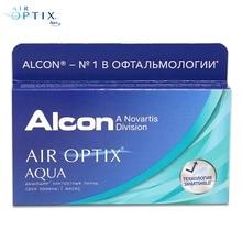 Контактные линзы Air Optix Aqua(6 шт) R: 8.6