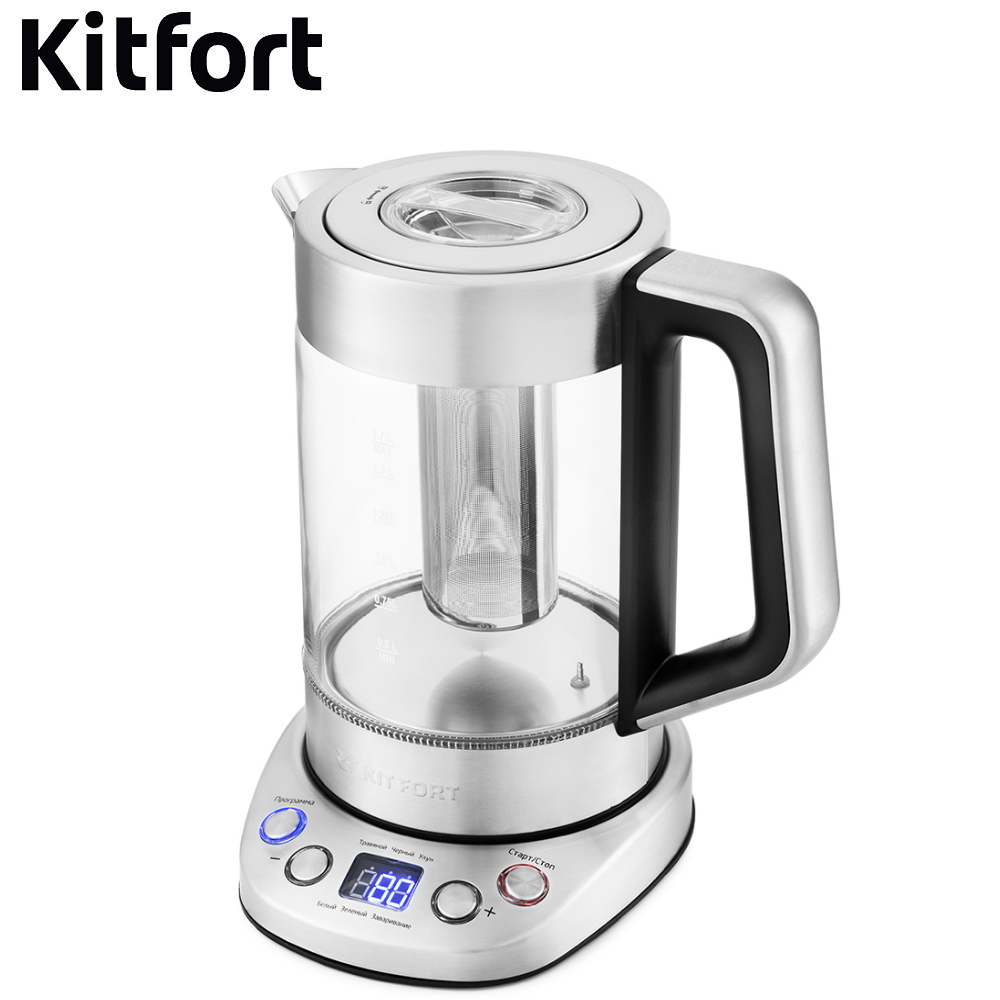Kettle Kitfort KT-650 Kettle Electric Electric kettles home kitchen appliances kettle make tea Thermo electric kettle kitfort kt 654 kettle electric electric kettles home kitchen appliances kettle make tea thermo