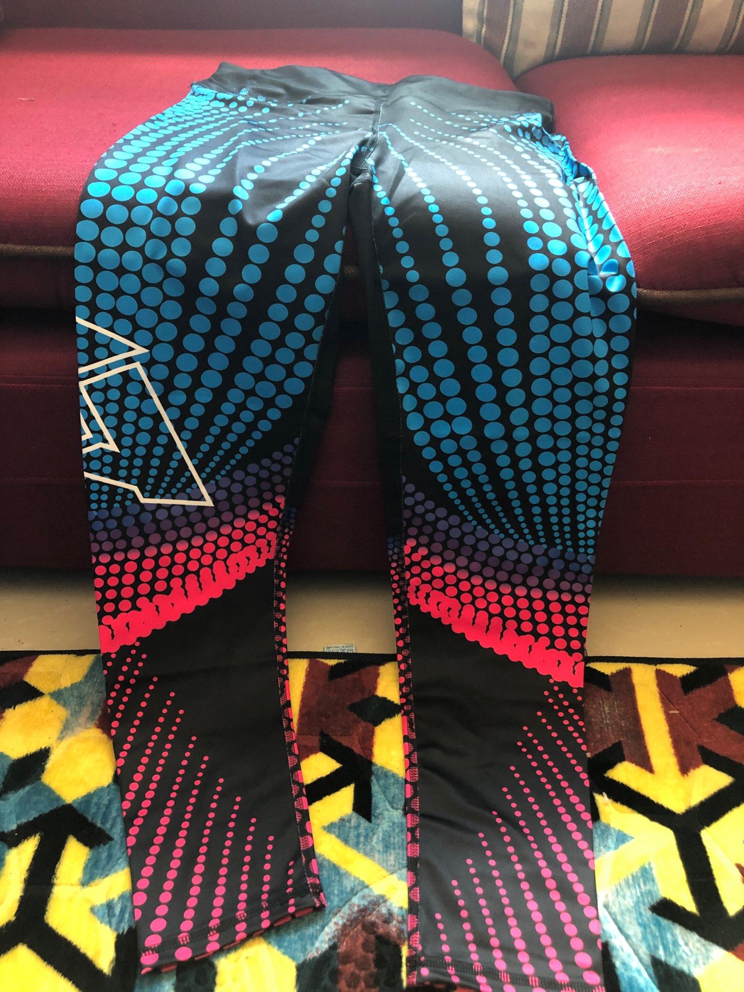 Women'sSport Style High Waist Elastic Leggings photo review