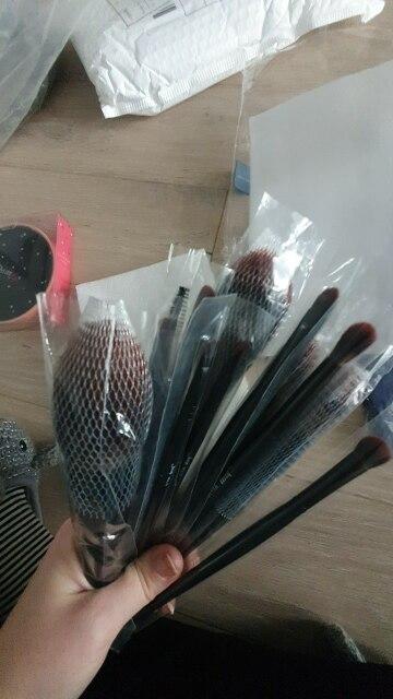 Jessup New Arrival Makeup brushes brushes Phantom Black 3-21pcs Foundation brush Powder Concealer Eyeshadow Synthetic hair reviews №4 235817