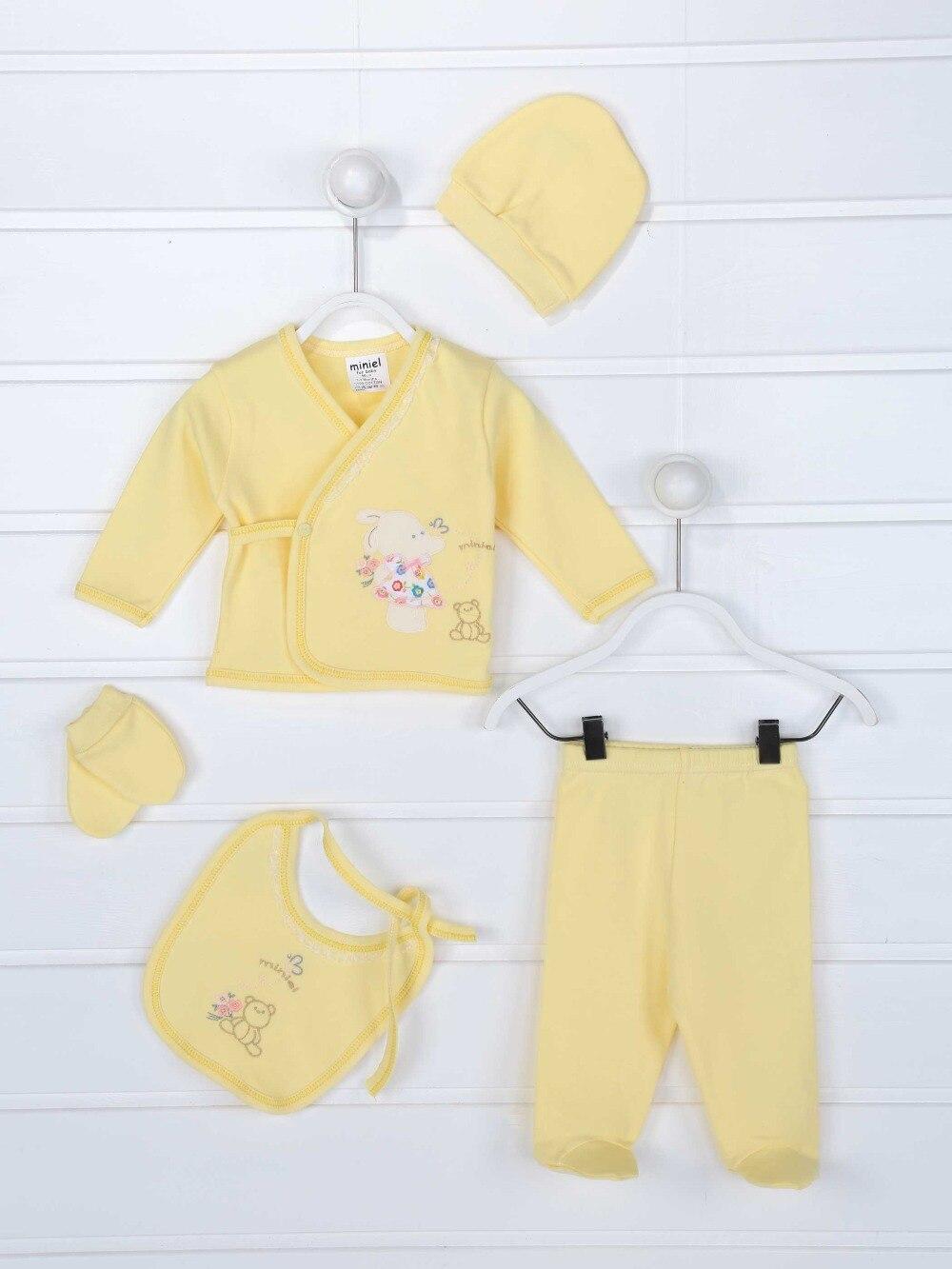 082-087-001 Sarı Yenidoğan Kız Bebek 5 li Hastane Çıkışı (1)