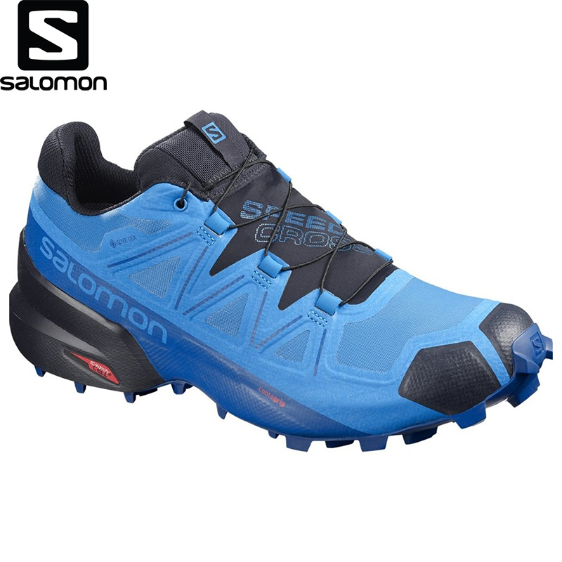 Salomon-Zapatillas Deportivas Speedcross 5 Gtx Para Hombre, Producto Original, Alta Calidad, A La Moda, Para Correr