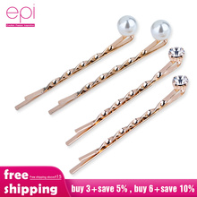 4Pcs/Set Pearl Metal Women Hair Clip Bobby Pin Barrette Hairpin Hair Accessories Beauty Styling Tools Dropshipping New Arrival цена 2017