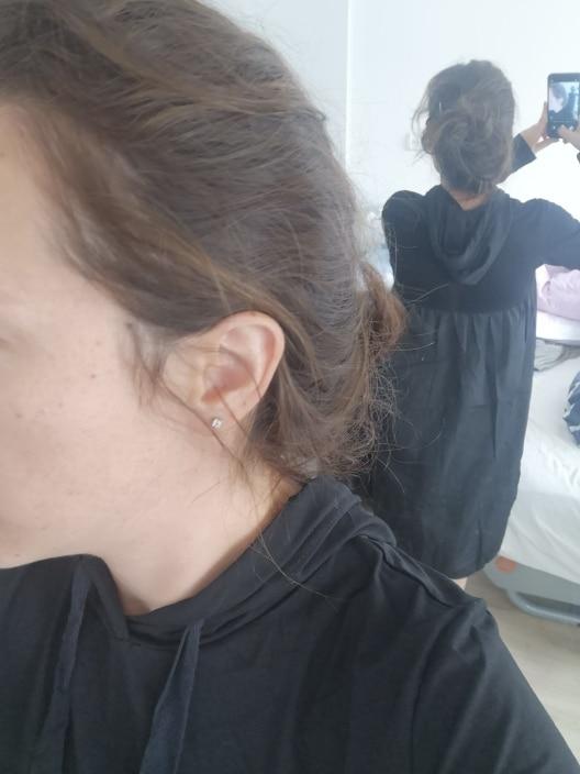 Spring  Hooded Long Sleeve Drawstring Black Fold Split Joint Loose Long Dress Women Fashion Tide photo review