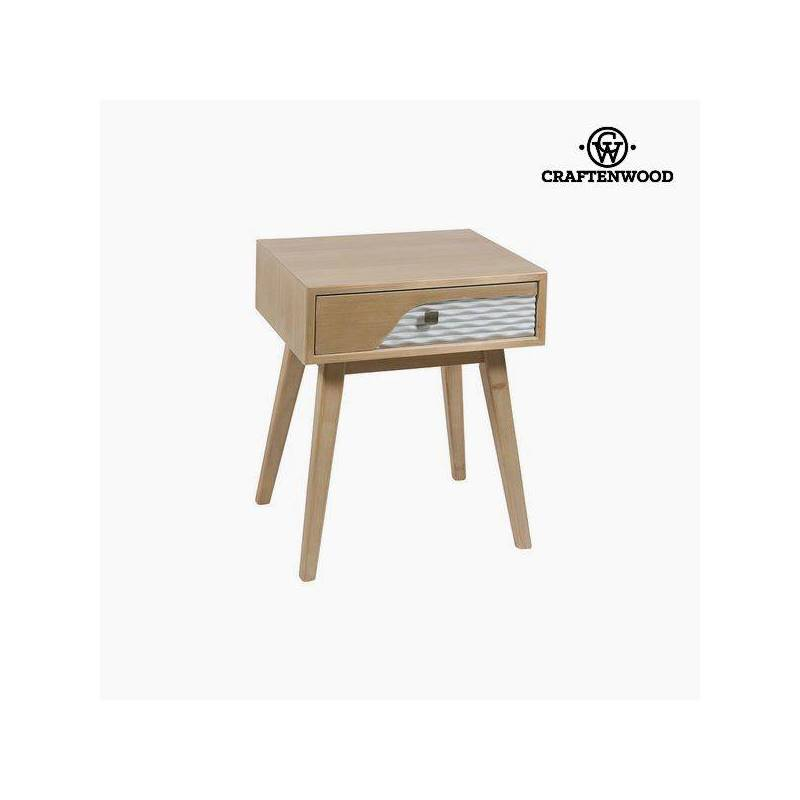 Bedside Table Mdf (56x48x40 Cm) By Craftenwood