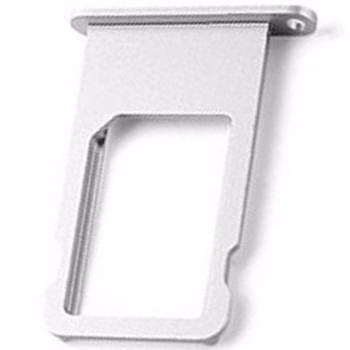 Sim card holder tray for iPhone 6S silver