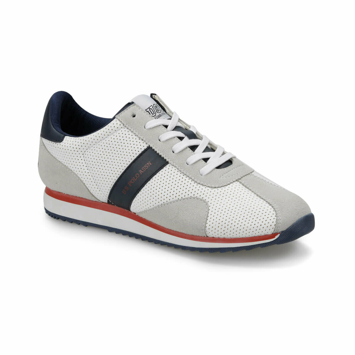 FLO LEWAN White Male Shoes U.S. POLO ASSN.