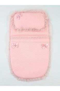 Pink Girl Baby Swaddle Bottom Opening