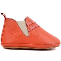 Sail-Lakers Гранатовый Цветок цветная кожаная детская обувь