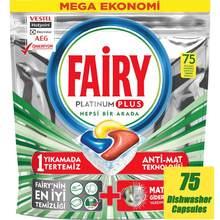 Fairy platinum plus cápsulas de máquina de lavar louça comprimidos abas de prato detergente vagens limpeza lavar louça concentrado original