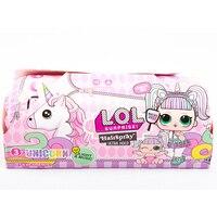 Capsule doll LOL Big LOLs unicorn hair light surprise gift for girls toy for children Baby 25 cm series music
