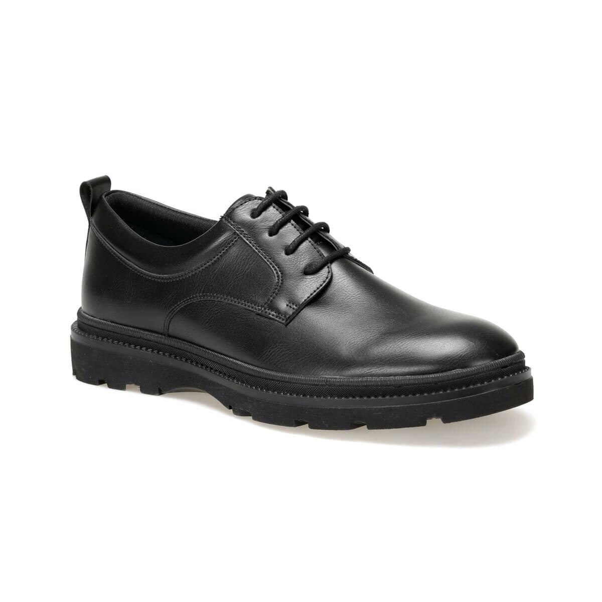Flo MR2-1 Zwarte Mannen Klassieke Schoenen Jj-Stiller