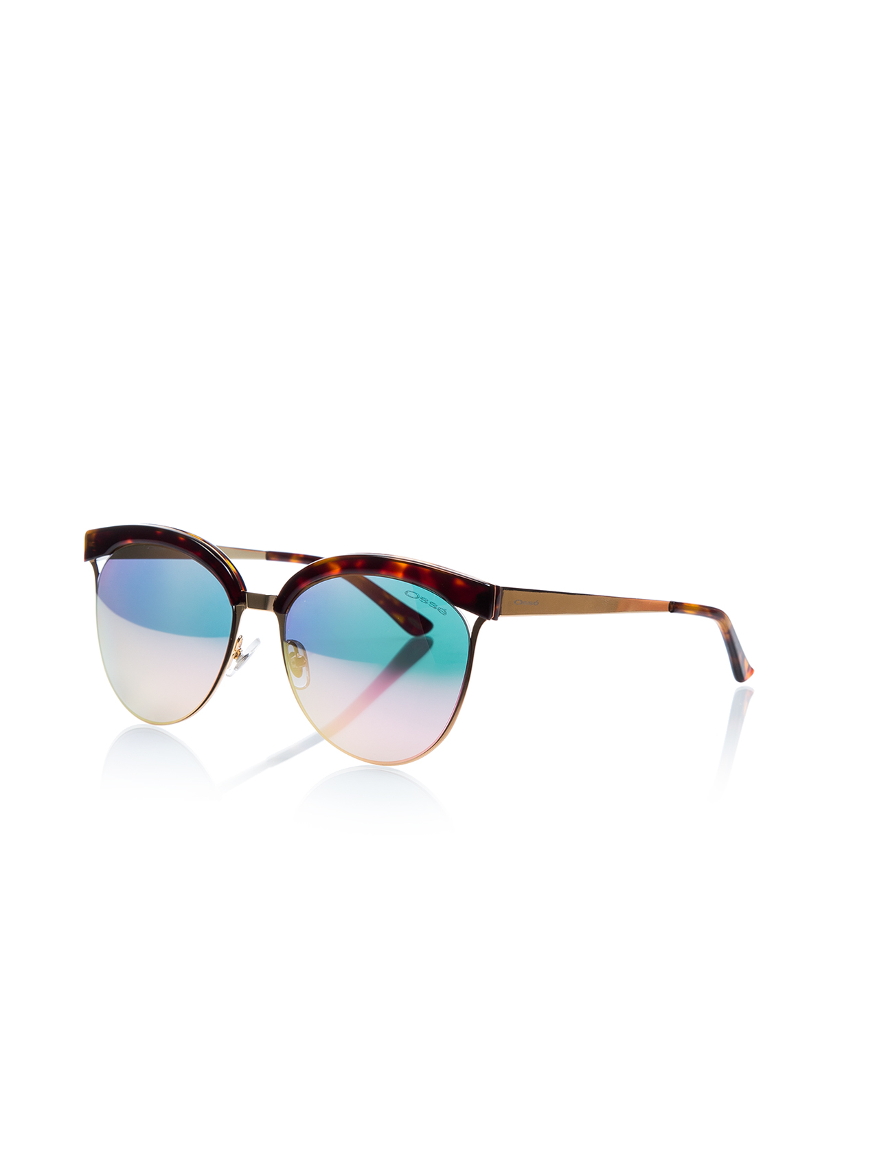 Women's sunglasses os 2664 02 clubmaster gold organic oval aval 55-18-145 osse
