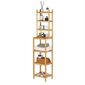 Отдельно стоящий 7-уровневый стеллаж для хранения Полка Стеллаж для хранения многофункциональный органайзер для кухни гостиной спальни