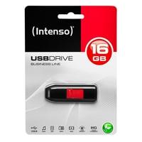 Memoria USB INTENSO 3511470 16 GB Negro