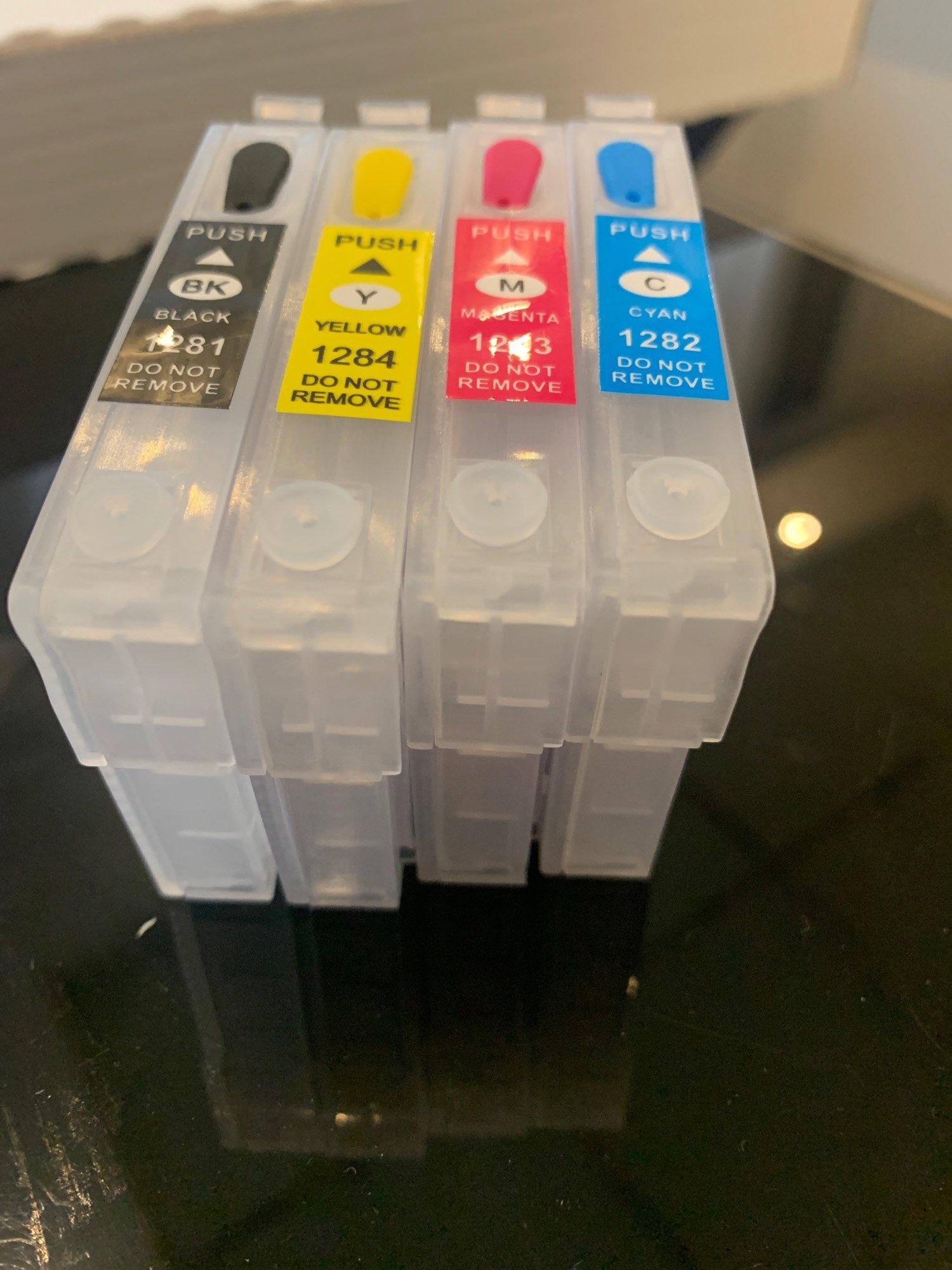 Dye Ink For EPSON Printers Premium 100ML 4 Color Ink BK C M Y for Epson Stylus TX106 TX109 TX117 TX119 C51 C91 CX4300 printer|dye ink|ink for epsoncolor ink - AliExpress