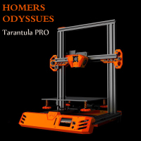 Homers Odyssues TEVO Tarantula PRO DIY Kit 3D Printer drucker impresora 235x235x250mm large printing Size Power Supply 3D Print