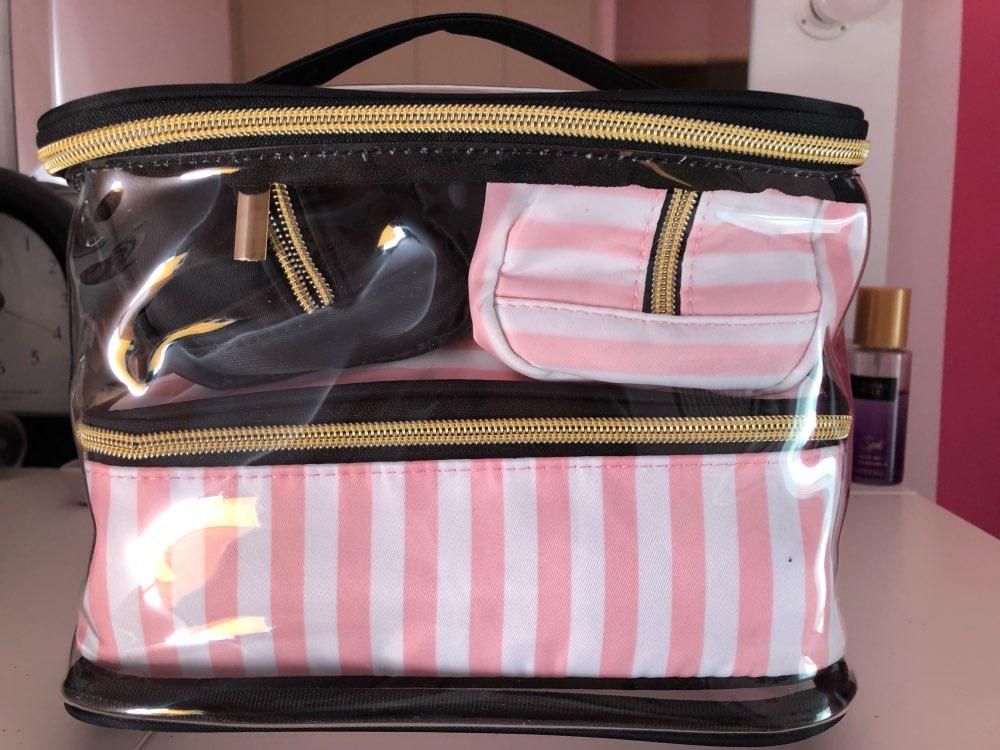 Bolsas p/ cosméticos cosméticos organizador pessoal