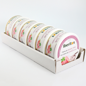 IBERITOS-tray 6 units from York with cheese soup cream from Ham cast in cans 250g - YORK-QUESO