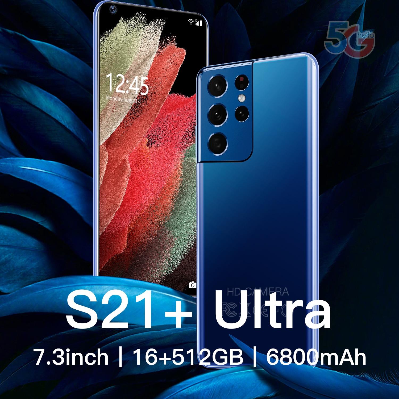 Galay S21 + Ультра смартфон 7,3 дюймов 16 ГБ + 512 ГБ 6800 мАч разблокировки 4G/5G Android10.0 мобильный телефон Celulares глобальная версия мобильного телефона