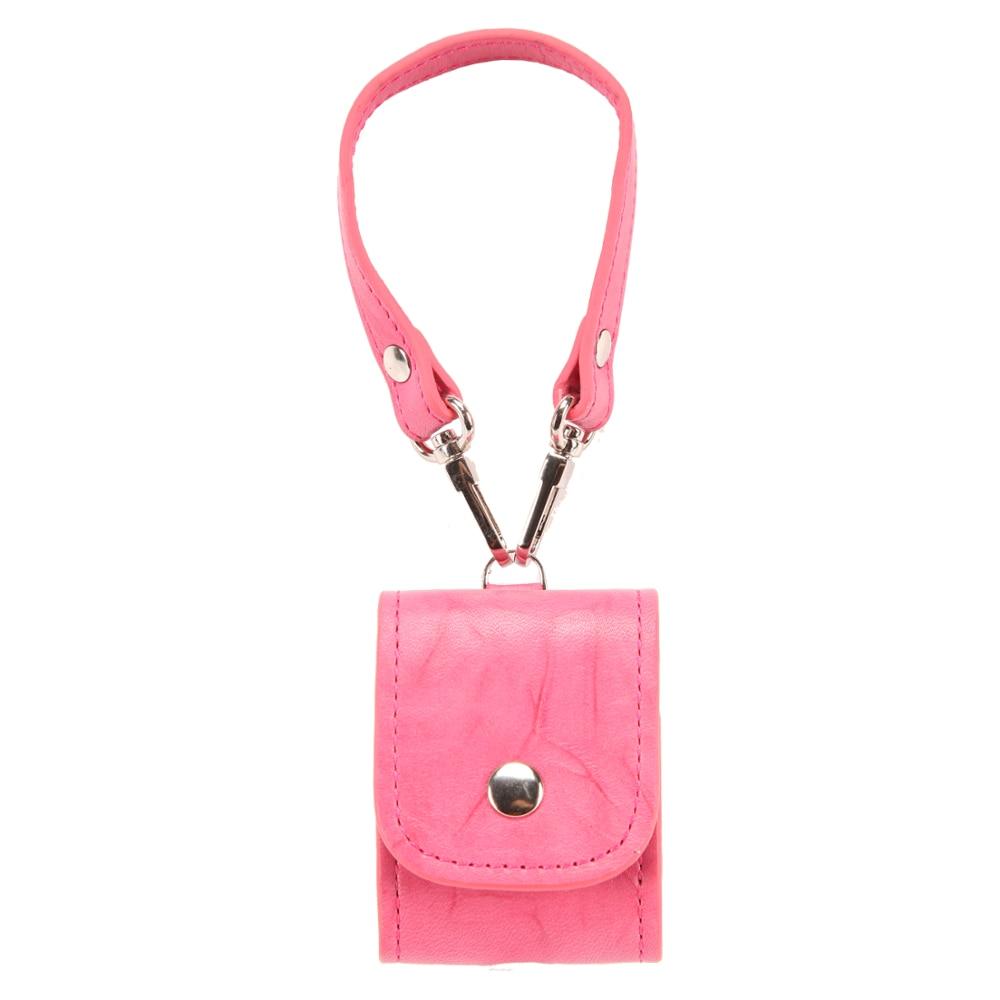 Натуральная кожа-аксессуары Airpods-защитный-Чехол Apple Airpods розовый