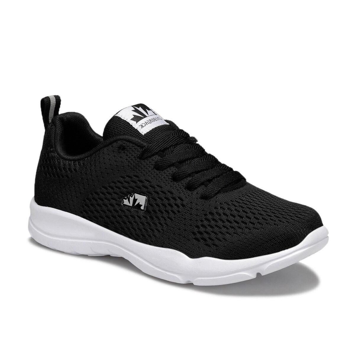 FLO AGATHA WMN Black Women Comfort Shoes LUMBERJACK