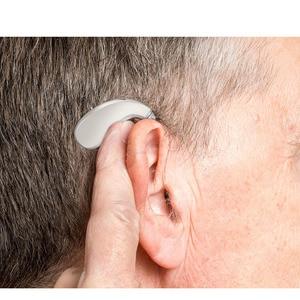 Image 4 - 203S najlepszy aparat słuchowy wzmacniacz dźwięku regulowany ton akumulator cyfrowe aparaty słuchowe RIC wzmacniacz dźwięku głosu DropShipping