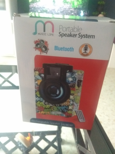 Altavoz Bluetooth Portátil Inalámbrico de 15W con Radio FM / USB / Aux / Tarjeta TF