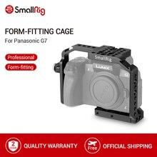 SmallRig G7 Käfig für Panasonic Lumix DMC G7 Kamera Käfig mit HDMI Kabel Klemme + Kalten Schuh + Montieren Nato Schiene 1779