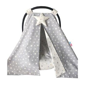 Jaju Baby Gray And Yıldız Combined Stroller Cover And Inner Cover