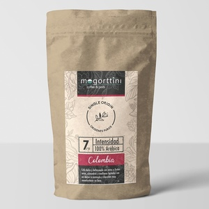 Colombia Supreme Mogorttini Single Origin. Coffee beans 500gr.