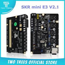 Placa de Control de dos árboles SKR mini E3 V2.1 32 bits con controlador UART TMC2209, piezas de impresora 3D skr v1.3 E3 Dip para Creality Ender 3